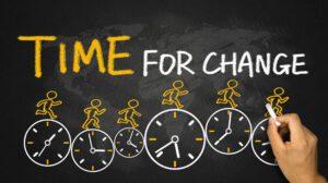dreamstime xxl 56275004 Time for change chalk board